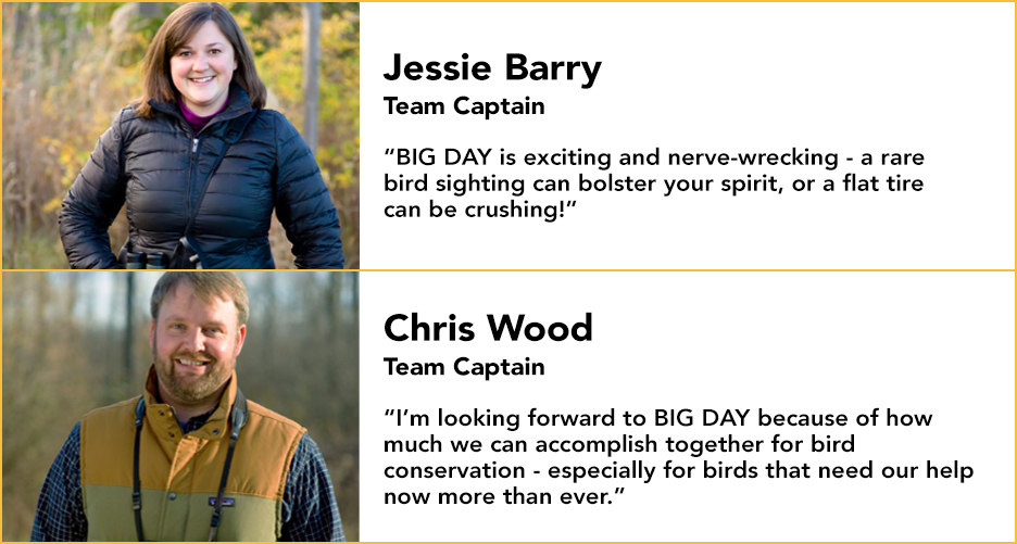 Jessie Barry and Chris Wood: The Team Sapsucker captains!